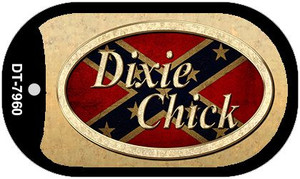 Dixie Chick Wholesale Novelty Metal Dog Tag Necklace DT-7960