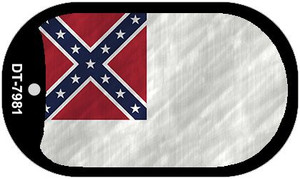 Second Confederate Flag Wholesale Novelty Metal Dog Tag Necklace DT-7981