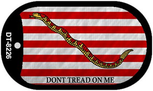 Dont Tread On Me Culpeper Wholesale Novelty Metal Dog Tag Necklace DT-8226