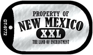 Property Of New Mexico Wholesale Novelty Metal Dog Tag Necklace DT-9772