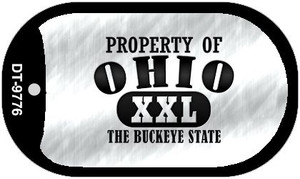 Property Of Ohio Wholesale Novelty Metal Dog Tag Necklace DT-9776