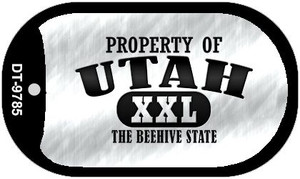 Property Of Utah Wholesale Novelty Metal Dog Tag Necklace DT-9785