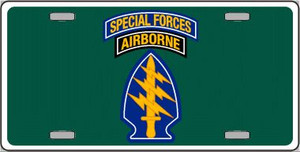 Special Forces Wholesale Novelty Metal License Plate LP-5223