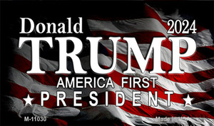 America First President Trump Wholesale Novelty Metal Magnet M-11030