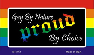 Gay By Nature Wholesale Novelty Metal Magnet