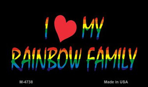 Rainbow Family  Wholesale Novelty Metal Magnet