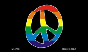 Peace Rainbow Wholesale Novelty Metal Magnet
