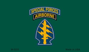 Special Forces Wholesale Novelty Metal Magnet