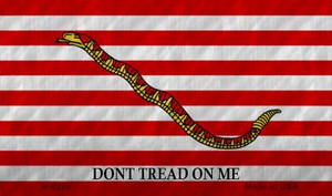 Dont Tread On Me Culpeper Wholesale Novelty Metal Magnet M-8226