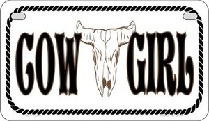 Cowgirl Wholesale Novelty Metal Motorcycle Plate MP-1294