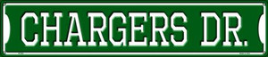 Chargers Dr Wholesale Novelty Metal Street Sign ST-951