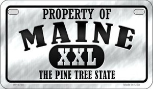 Property Of Maine Wholesale Novelty Metal Motorcycle Plate MP-9760