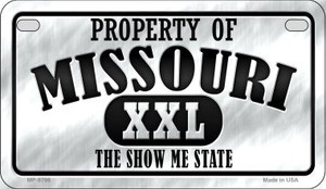 Property Of Missouri Wholesale Novelty Metal Motorcycle Plate MP-9766