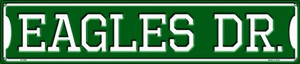 Eagles Dr Wholesale Novelty Metal Street Sign ST-956