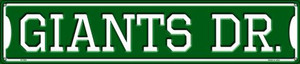 Giants Dr Wholesale Novelty Metal Street Sign ST-958