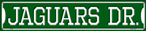 Jaguars Dr Wholesale Novelty Metal Street Sign ST-959