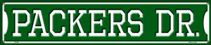 Packers Dr Wholesale Novelty Metal Street Sign ST-962