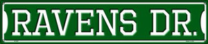 Ravens Dr Wholesale Novelty Metal Street Sign ST-967