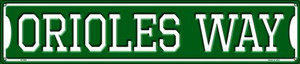 Orioles Way Wholesale Novelty Metal Street Sign ST-992