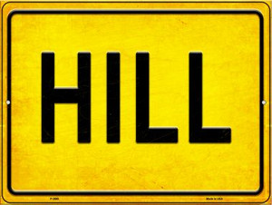 Hill Wholesale Novelty Metal Parking Sign P-2695