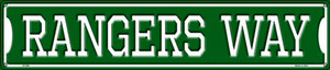 Rangers Way Wholesale Novelty Metal Street Sign ST-996