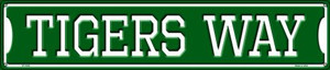 Tigers Way Wholesale Novelty Metal Street Sign ST-1002