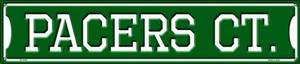 Pacers Ct Wholesale Novelty Metal Street Sign ST-1016
