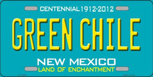 Green Chile New Mexico Green Wholesale Novelty Metal License Plate LP-12502