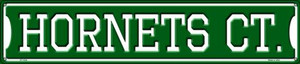 Hornets Ct Wholesale Novelty Metal Street Sign ST-1024