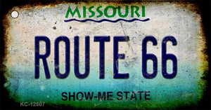 Route 66 Missouri Wholesale Novelty Metal Key Chain KC-12507