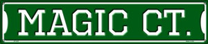 Magic Ct Wholesale Novelty Metal Street Sign ST-1027