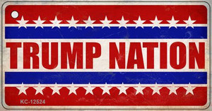 Trump Nation Wholesale Novelty Metal Key Chain KC-12524