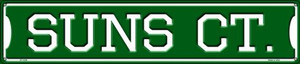 Suns Ct Wholesale Novelty Metal Street Sign ST-1029