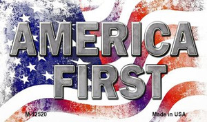 America First Wholesale Novelty Metal Magnet M-12520
