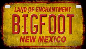 Bigfoot New Mexico Wholesale Novelty Metal Motorcycle Plate MP-12495