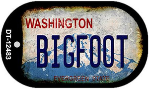 Bigfoot Washington Wholesale Novelty Metal Dog Tag Necklace DT-12483