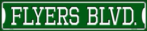 Flyers Blvd Wholesale Novelty Metal Street Sign ST-1045
