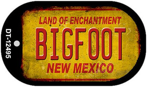 Bigfoot New Mexico Wholesale Novelty Metal Dog Tag Necklace DT-12495
