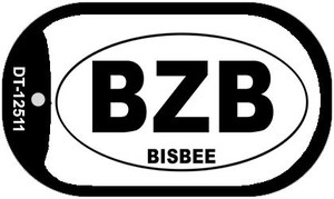 BZB Bisbee Wholesale Novelty Metal Dog Tag Necklace DT-12511