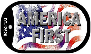 America First Wholesale Novelty Metal Dog Tag Necklace DT-12520
