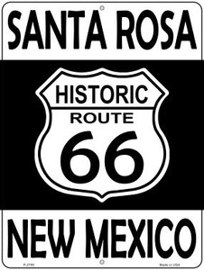 Santa Rosa New Mexico Historic Route 66 Wholesale Novelty Metal Parking Sign P-2795