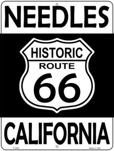 Needles California Historic Route 66 Wholesale Novelty Metal Parking Sign P-2804