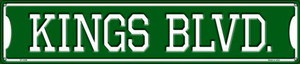 Kings Blvd Wholesale Novelty Metal Street Sign ST-1059
