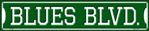 Blues Blvd Wholesale Novelty Metal Street Sign ST-1064