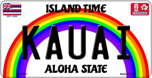 Kauai Hawaii Wholesale Novelty Metal Bicycle Plate BP-12541