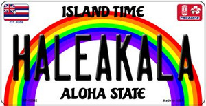 Haleakala Hawaii Wholesale Novelty Metal Bicycle Plate BP-12552