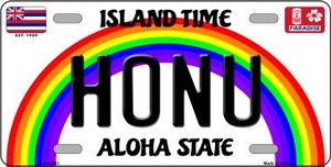 Honu Hawaii Wholesale Novelty Metal Bicycle Plate BP-12563