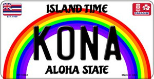 Kona Hawaii Wholesale Novelty Metal Bicycle Plate BP-12568