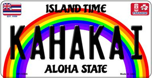 Kahakai Hawaii Wholesale Novelty Metal Bicycle Plate BP-12595