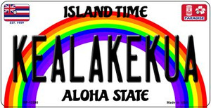 Kealakekua Hawaii Wholesale Novelty Metal Bicycle Plate BP-12598
